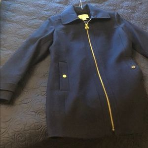 Navy Michael Kors Pea Coat